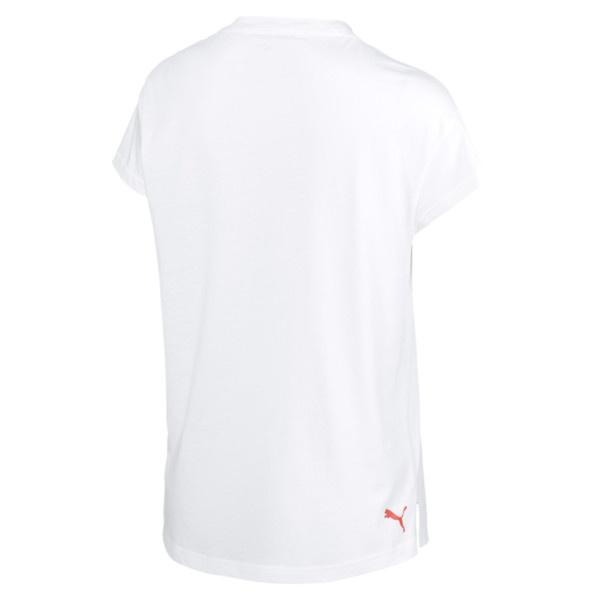 Modern Sports Women's Graphic Tee, Puma White, large