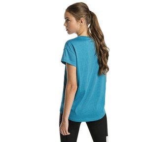 Thumbnail 2 of Modern Sports Graphic Women's Tee, Caribbean Sea, medium