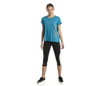 Thumbnail 3 of Modern Sports Graphic Women's Tee, Caribbean Sea, medium