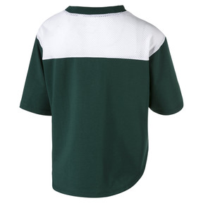 Thumbnail 5 of Modern Sport Damen Kurzes Sweat-T-Shirt, Ponderosa Pine, medium