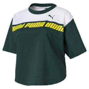Thumbnail 4 of Modern Sport Damen Kurzes Sweat-T-Shirt, Ponderosa Pine, medium