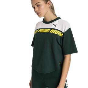 Thumbnail 1 of Modern Sports Cropped Women's Sweat Tee, Ponderosa Pine, medium