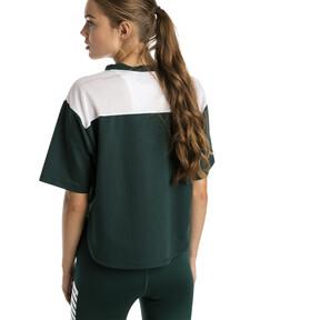 Thumbnail 2 of Modern Sport Damen Kurzes Sweat-T-Shirt, Ponderosa Pine, medium