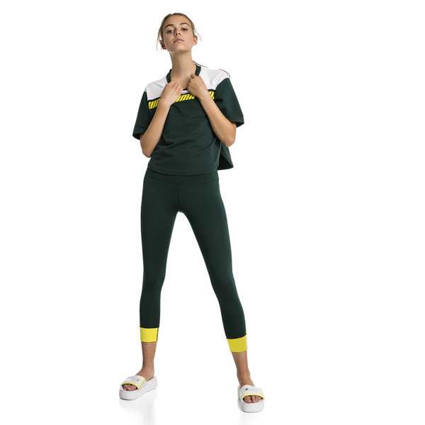Modern Sport Damen Kurzes Sweat-T-Shirt, Ponderosa Pine, large
