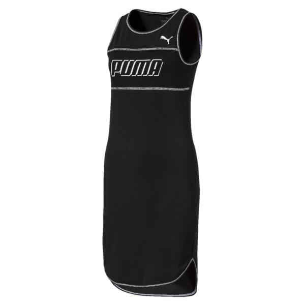 Modern Sports jurk zonder mouwen voor vrouwen, Cotton Black, large