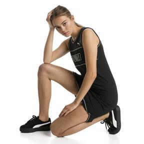 Thumbnail 3 van Modern Sports jurk zonder mouwen voor vrouwen, Cotton Black, medium