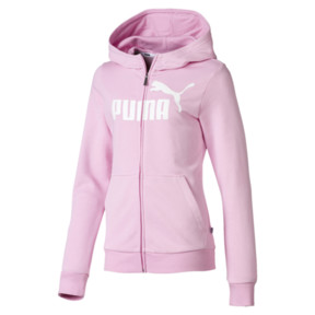 Essentials Full Zip Girls' Hoodie