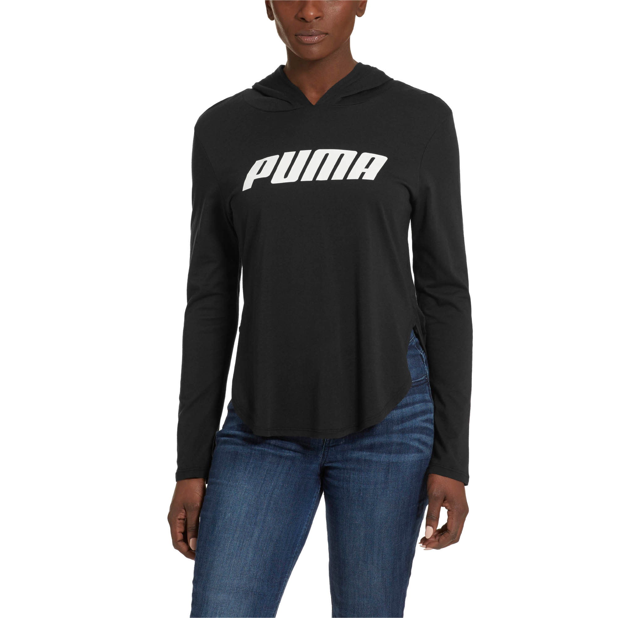 PUMA-Modern-Sports-Light-Cover-up-Women-Tee-Basics thumbnail 7