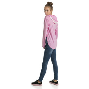 Thumbnail 2 of Modern Sports Light Cover-Up Women's Hoodie, Pale Pink, medium