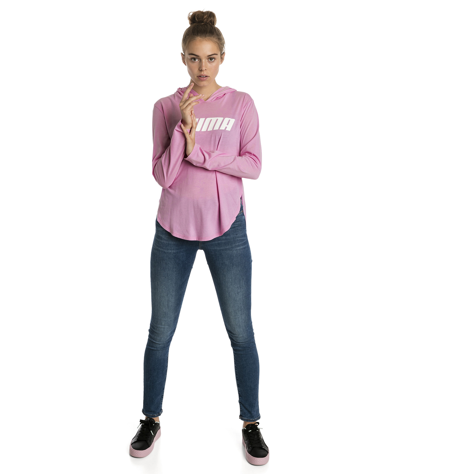 Image Puma Modern Sports Light Cover-Up Women's Hoodie #3