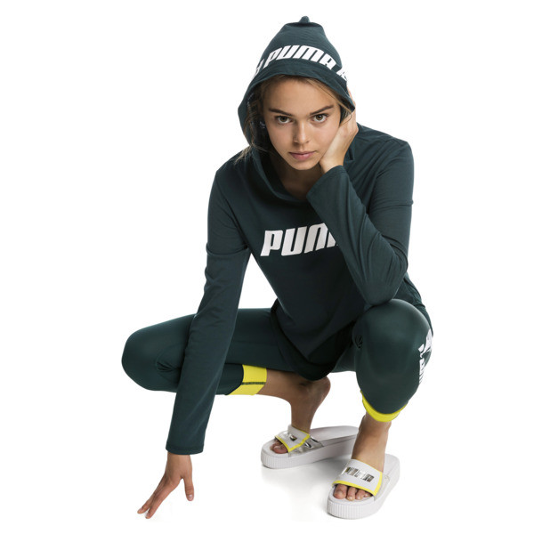 Sudadera con capucha de mujer Modern Sports Light Cover-Up, Ponderosa Pine, grande