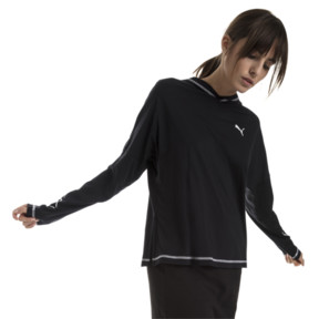Thumbnail 1 of Modern Sports Women's Light Cover Up, Cotton Black, medium