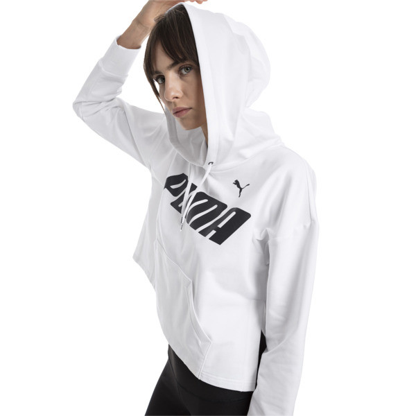 Modern Sports Women's Hoodie, Puma White, large