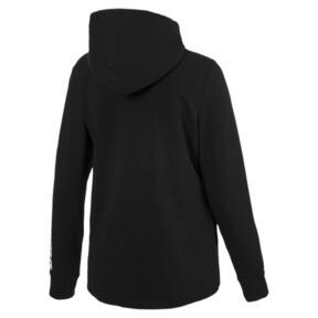 Thumbnail 5 of Modern Sports Women's Hooded Jacket, Cotton Black, medium
