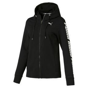 Thumbnail 4 of Modern Sports Women's Hooded Jacket, Cotton Black, medium