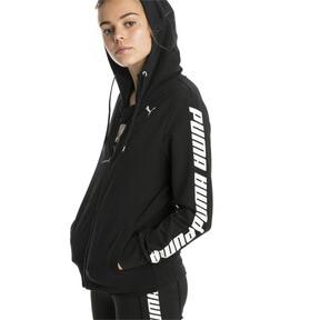 Thumbnail 1 of Modern Sports Women's Hooded Jacket, Cotton Black, medium