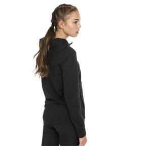 Thumbnail 2 of Modern Sports Women's Hooded Jacket, Cotton Black, medium
