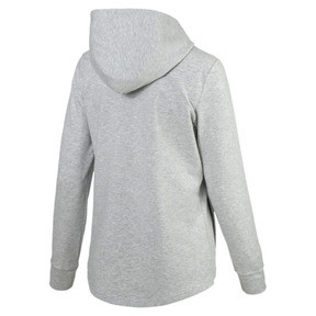 Thumbnail 5 of Modern Sports Women's Hooded Jacket, Light Gray Heather, medium