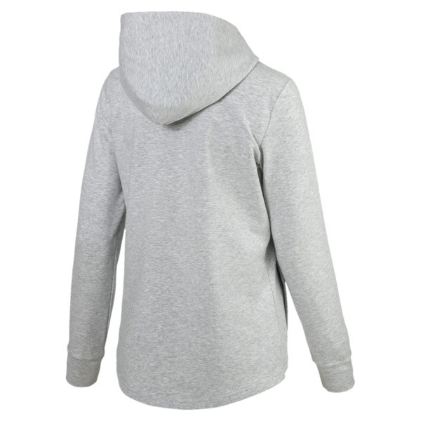 Modern Sports Hooded Jacket, Light Gray Heather, large