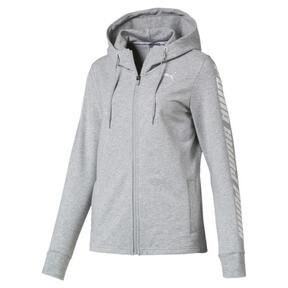 Thumbnail 2 of Modern Sports Hooded Jacket, Light Gray Heather, medium