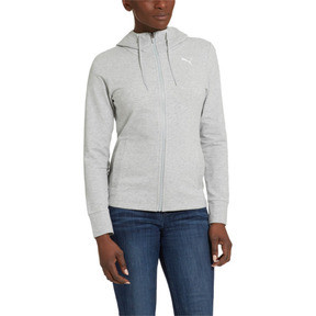 Thumbnail 1 of Modern Sports Hooded Jacket, Light Gray Heather, medium