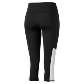 Thumbnail 5 of Modern Sports Women's 3/4 Leggings, Puma Black-white, medium