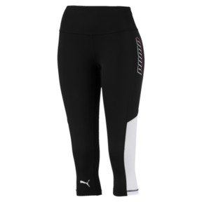 Thumbnail 4 of Modern Sports Women's 3/4 Leggings, Puma Black, medium