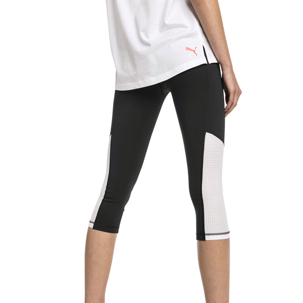 Modern Sports Women's 3/4 Leggings, Puma Black, large