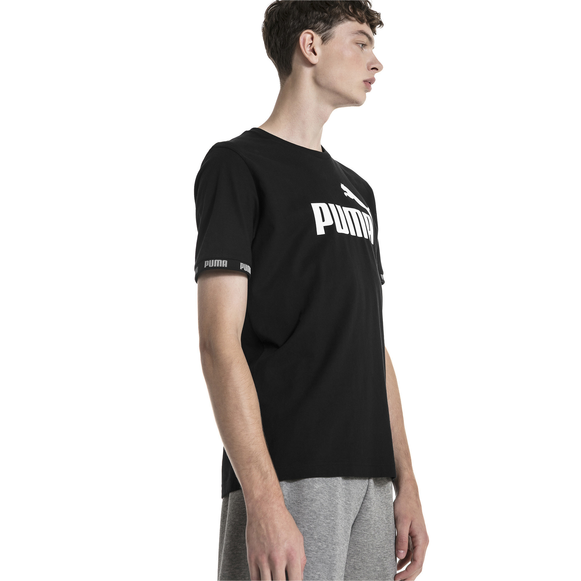 37c8867daee Amplified Men's Tee | 10 - Black | Puma