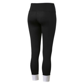 Thumbnail 5 of Modern Sports Fold Up Women's Leggings, Puma Black-white, medium