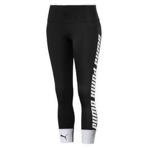Thumbnail 4 of Modern Sports Fold Up Women's Leggings, Puma Black-white, medium