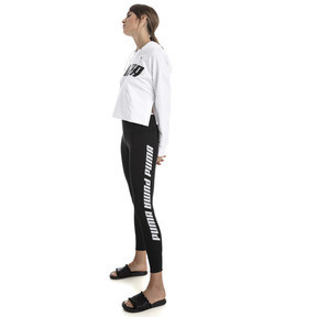 Thumbnail 3 of Modern Sports Fold Up Women's Leggings, Puma Black-white, medium