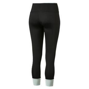Imagen en miniatura 5 de Leggings con vuelta de mujer Modern Sports, Puma Black-fair aqua silver, mediana