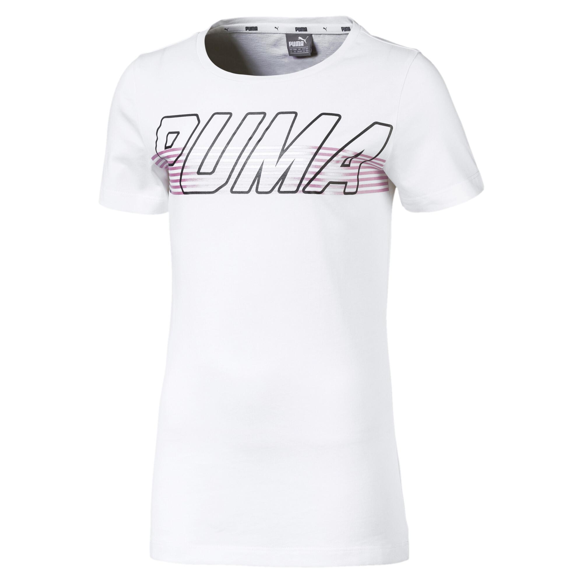 Image Puma Alpha Logo Girls' Tee #1