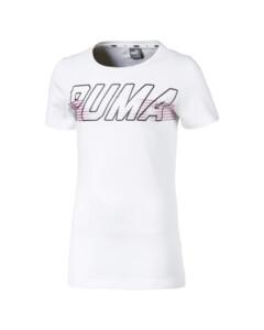Image Puma Alpha Logo Girls' Tee