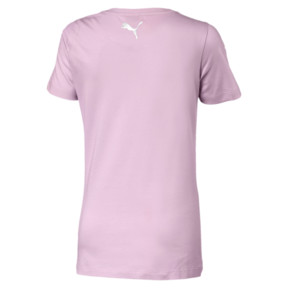 Thumbnail 2 of Alpha Logo Mädchen T-Shirt, Pale Pink, medium
