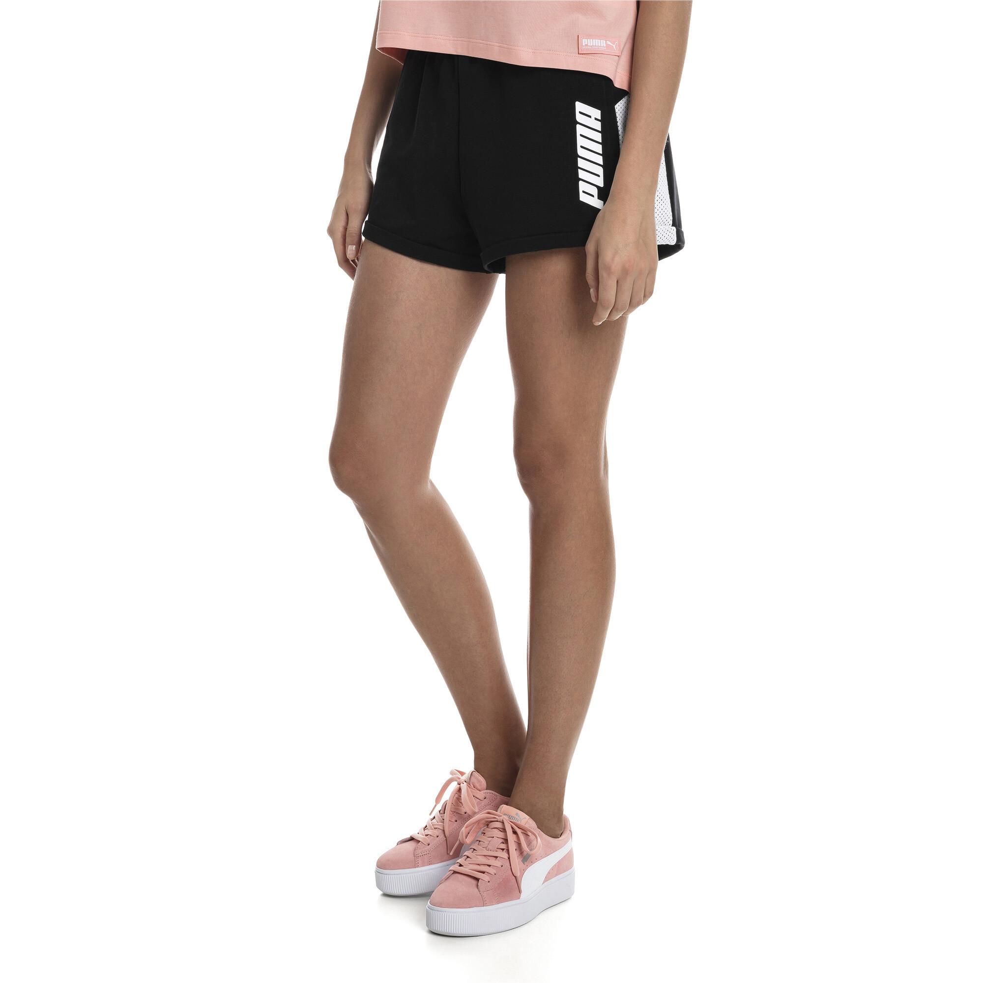 PUMA-Modern-Sports-Damen-Shorts-Frauen-Shorts-Basics-Neu Indexbild 4