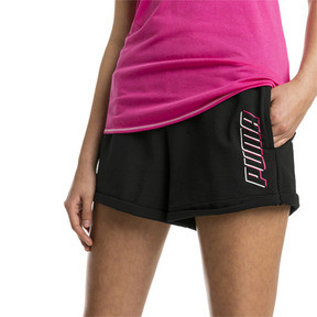Thumbnail 1 of Modern Sports Women's Shorts, Cotton Black, medium