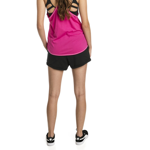 Modern Sports Women's Shorts, Cotton Black, large