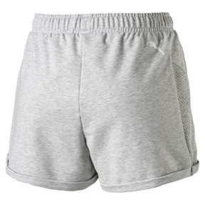 Thumbnail 4 of Modern Sports Women's Shorts, Light Gray Heather, medium