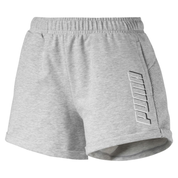 Modern Sports Women's Shorts, Light Gray Heather, large