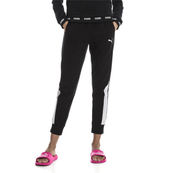 Modern Sports Pants, Cotton Black, large