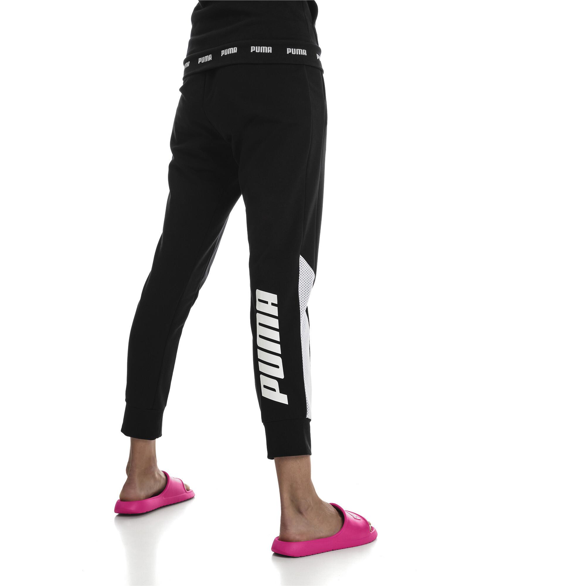PUMA-Modern-Sports-Pants-Women-Knitted-Pants-Basics thumbnail 5