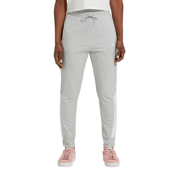 Modern Sports Pants, Light Gray Heather, large
