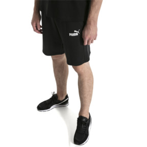 "Thumbnail 1 of Amplified 9"" Men's Shorts, Cotton Black, medium"