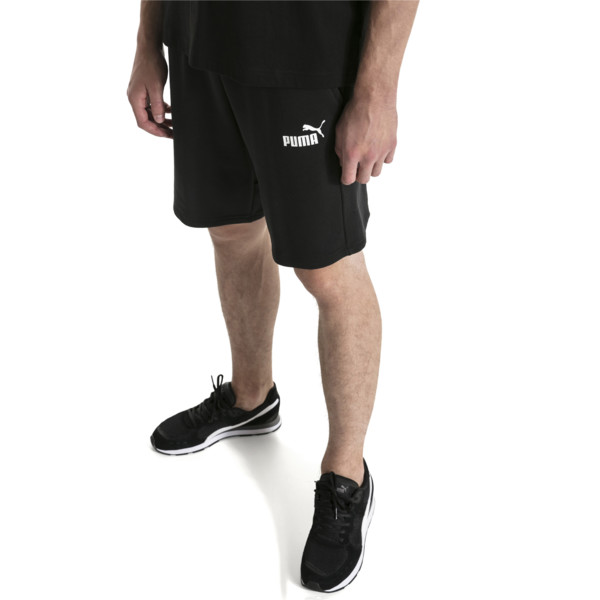 "Amplified 9"" Men's Shorts, Cotton Black, large"