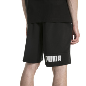 "Thumbnail 2 of Amplified 9"" Men's Shorts, Cotton Black, medium"