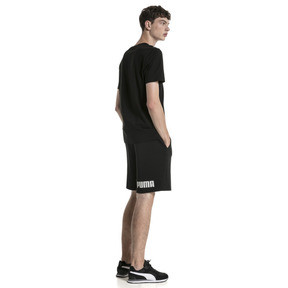 "Thumbnail 3 of Amplified 9"" Men's Shorts, Cotton Black, medium"