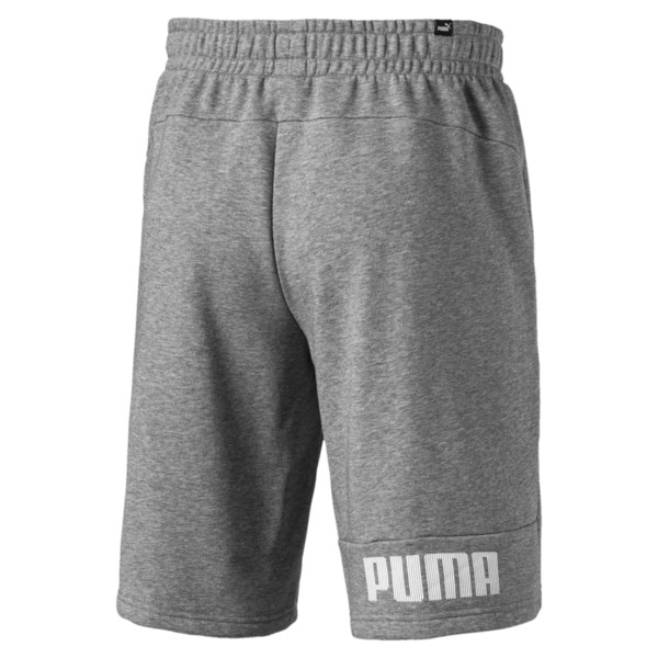 "Amplified 9"" Men's Shorts, Medium Gray Heather, large"