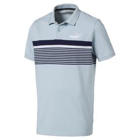 ESS+ Striped Men's Polo